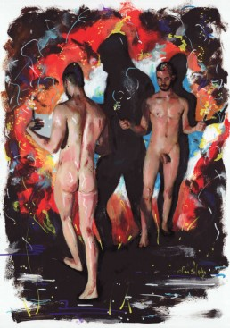 Torches 3 by Claudio Bindella