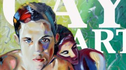 Gay art section, one of the 8 categories of Claudio Bindella website