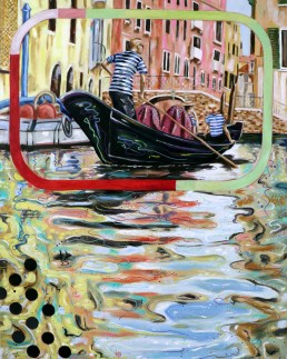Gondoliers 2 by Claudio Bindella