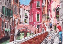 Calle dei dose, by Claudio Bindella